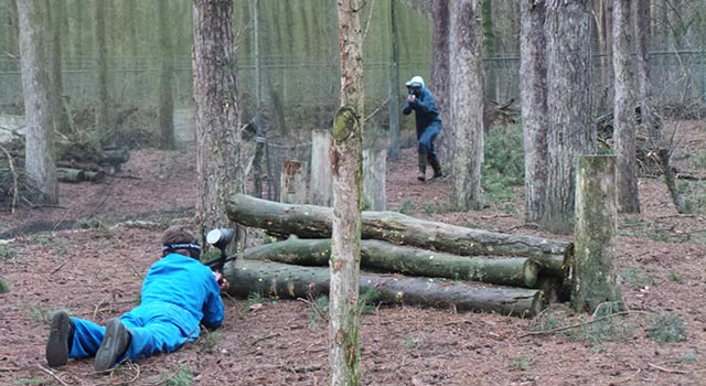 Paintballen in Valkenswaard