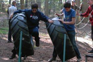 Survival - Low Ropes parcours