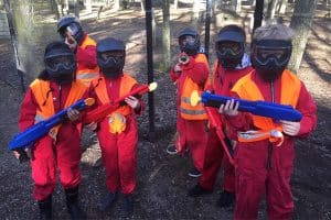 Kinder Paintball