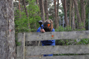Ladies paintball