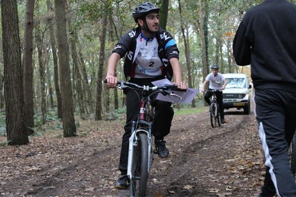 Mountainbiketocht in Valkenswaard
